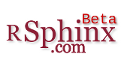 rsphinx logo